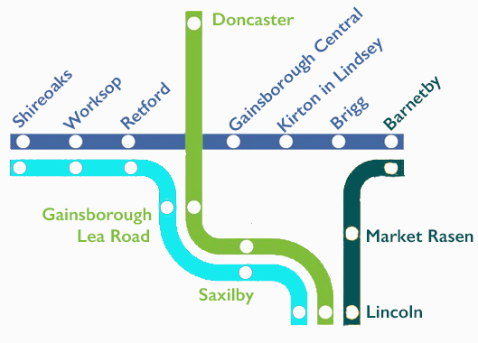 map of the north notts and lincs crp area